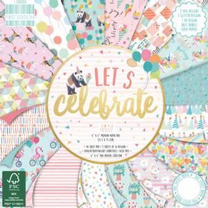 Bilde av First Edition - 190 - 6x6 Paper Pad - Let's Celebrate