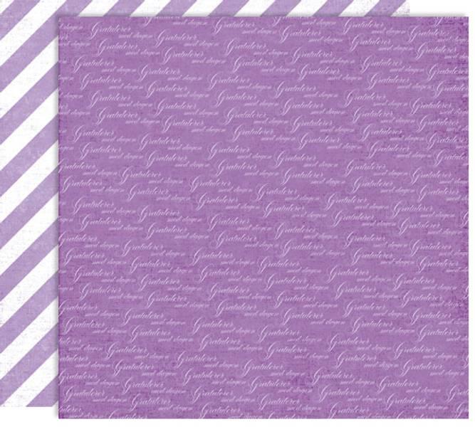 Papirdesign PD14879 - Forventning - Gratulerer, lilla
