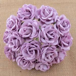 Bilde av Flowers - Chelsea Roses - Saa-485 - Lilac - 50stk