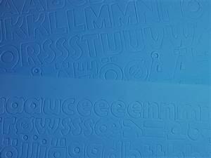 Bilde av Mosegummi - Alfabet & tall - Blå