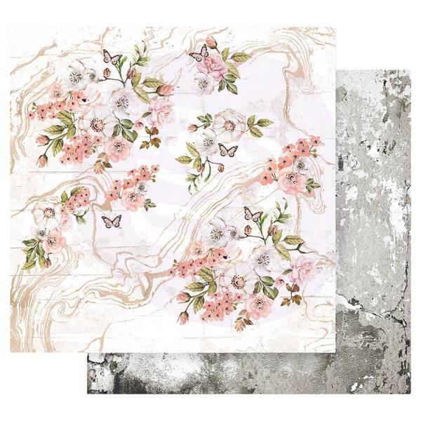 Prima - 849191 - 12x12 - Apricot Honey - Tiny Blossoms