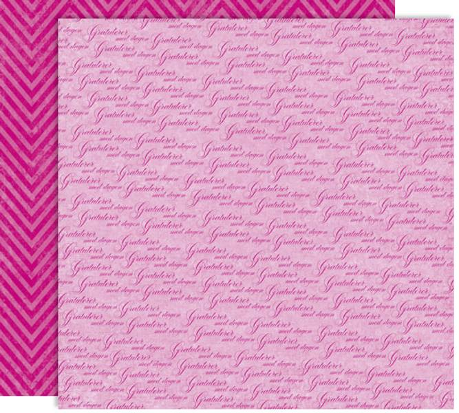 Papirdesign PD14884 - Forventning - Gratulerer, rosa