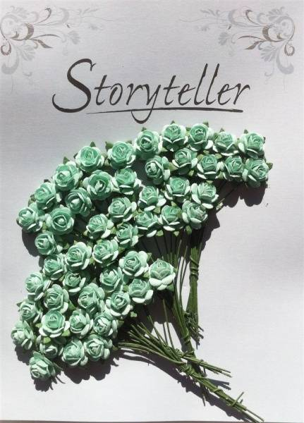 Storyteller - Rose - Mint grønn - 10mm - 2101