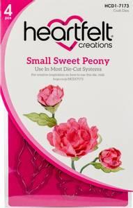 Bilde av Heartfelt Creations - Sweet Peony Small - Cut & Emboss Dies