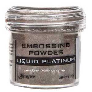 Bilde av Ranger - Embossing powder - Liquid Platinum