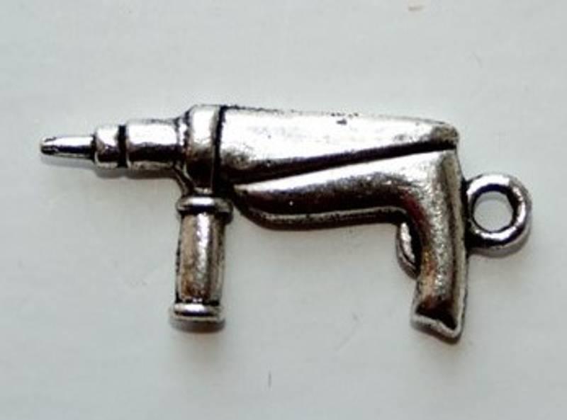 Charms - Drill - Sølv - 5 stk