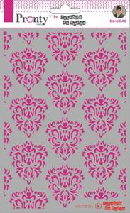 Bilde av Pronty Crafts - Stencil - A5 - Barok Pattern