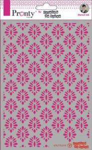 Bilde av Pronty Crafts - Stencil - A5 - Barok Pattern 1