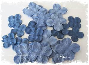 Bilde av Papirdesign - Hortensia - blå