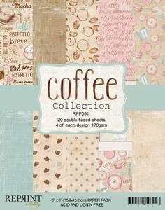 Bilde av Reprint - 6x6 - RPP051 - Coffee Collection Pack