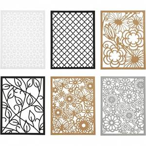 Bilde av CCH - Cardboard Lace Patterns - A6 - grå, hvit, natur, svart