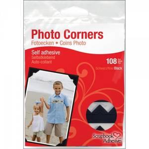 Bilde av Scrapbook Adhesives - Photo Corners Self-Adhesive - Black