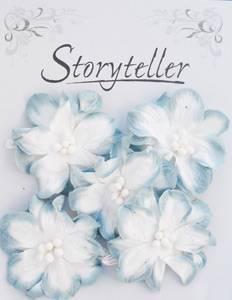 Bilde av Storyteller - Gardenia - Blå kant - 2095
