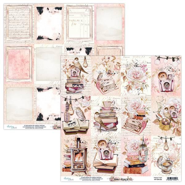 Mintay - DIA - 12x12 - Dear Diary - 06 Picture Sheet