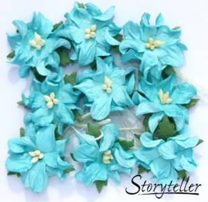 Bilde av Storyteller - Gardenia små - Turkis - 3610