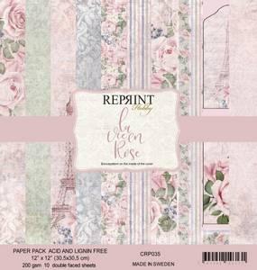 Bilde av Reprint - 12x12 - CRP035 - La Vie en Rose Collection pack