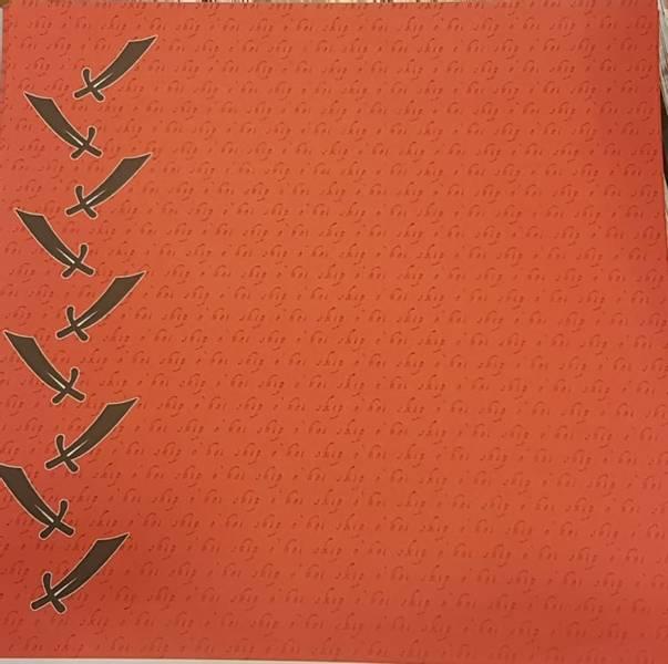 Papirdesign PD070205 - Sjørøver