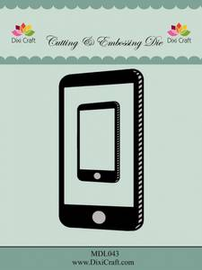 Bilde av Dixi Craft - Dies - MDL043 - Smartphone