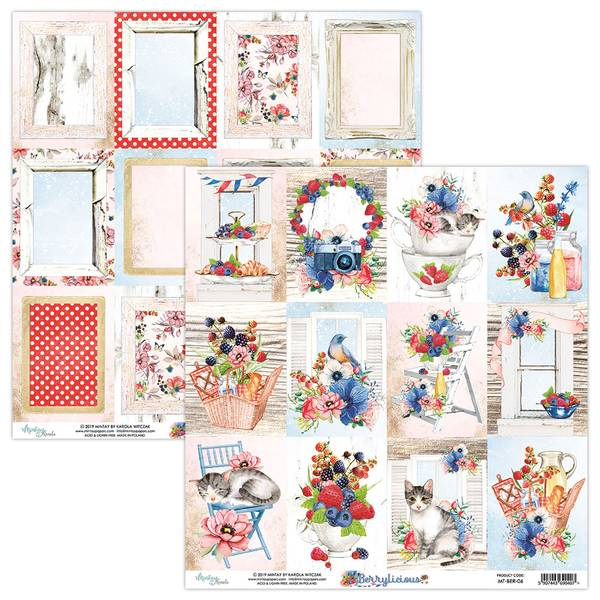Mintay - BER - 12x12 - Berrylicious - 06 Picture Sheet