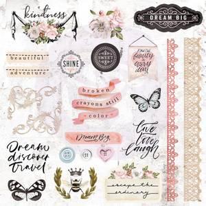 Bilde av Prima - 638931 - Ephemera & Stickers - Apricot Honey