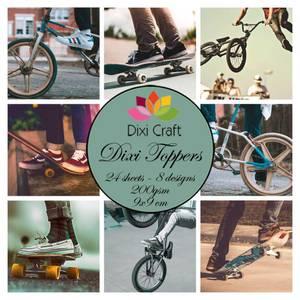 Bilde av  Dixi Craft - Dixi toppers - ETL021 -  Skater