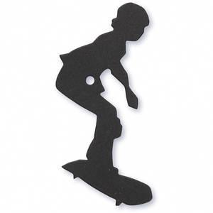 Bilde av Happy Moments - Mix & Match - Die-cut - Skater, 56x67 mm, 10stk.