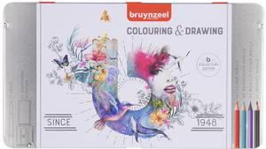 Bilde av Bruynzeel - Colouring & Drawing Collectors Edition Set