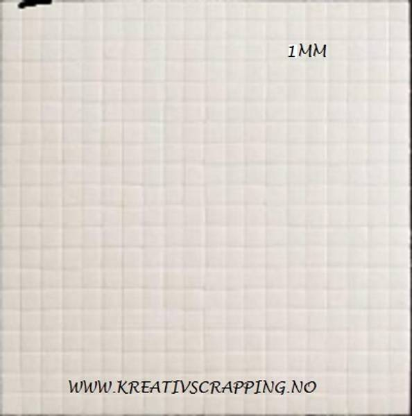 Hobby & Fun - 3D Foam Tape - 3401 - 5x5mm - h: 1mm - 400stk
