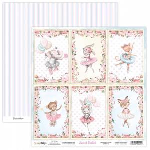 Bilde av ScrapBoys - Sweet Ballet - 12x12 - SWBA-06