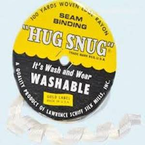 Bilde av  Seam Binding - Hug Snug - Ribbon - Winter White - Pr meter