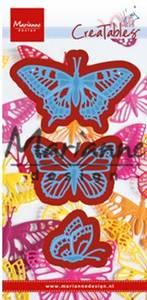Bilde av Marianne Design - Creatables - LR0509 - Tiny's butterflies set