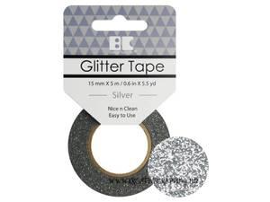 Bilde av BC - Glitter Tape - 15mm x 5m - 001 - Silver