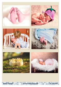 Bilde av Barto Design - Klippeark A4 - 067696 - Baby