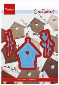 Bilde av Marianne Design - Creatables - LR0515 - Willow cats & birdhouse