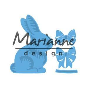 Bilde av Marianne Design - Creatables - LR0519 - Easter bunny with bow