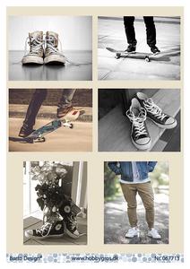 Bilde av Barto Design - Klippeark A4 - 067713 - Shoes