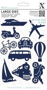 Bilde av Xcut dies - XCU 503346 - Planes, Trains & Automobiles