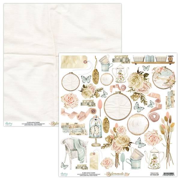Mintay - HOM - 12x12 - Homemade - 09 Die Cut Sheet