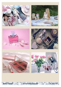 Bilde av Barto Design - Klippeark A4 - 067730 - Parfume & Make Up