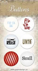 Bilde av Papirdesign - Buttons - 864 - Smil