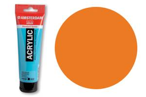 Bilde av Amsterdam - Acrylic Standard - 120ml - 276 AZO ORANGE