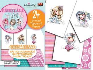 Bilde av Polkadoodles - A6 Topper Craft Pack - Winnie & Friends Fairytale