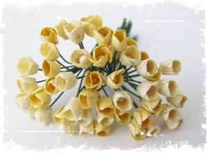 Bilde av Papirdesign - Små blomster, gul