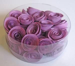 Bilde av Kort & Godt - Blomst snurret S - lilla - 2527