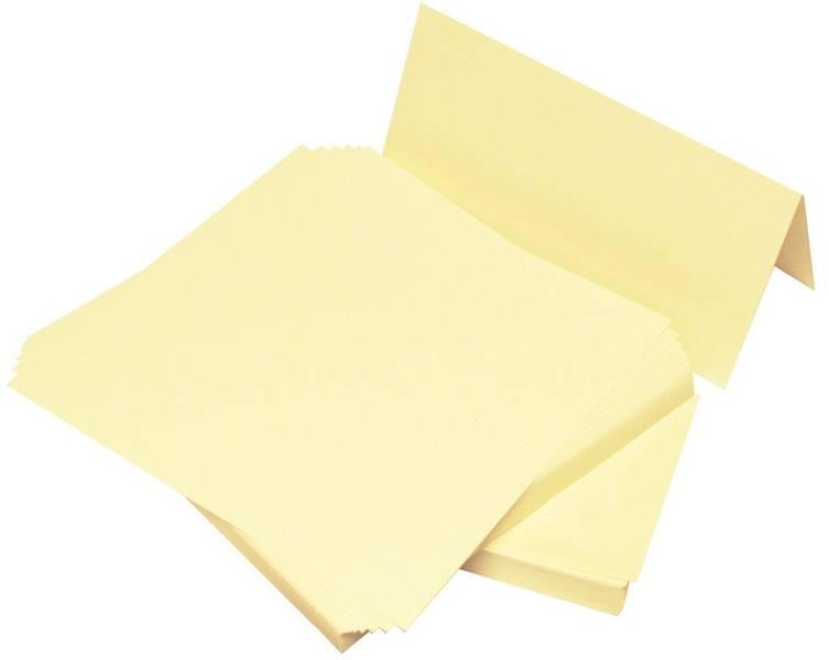 Craft UK - Cards & Envelopes - 50 stk - DL (9,9x21 cm) - Ivory
