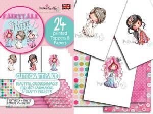 Bilde av Polkadoodles - A6 Topper Craft Pack - Winnie Princess Fairytale