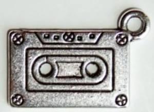 Bilde av Charms - Kassett - Sølv - 5 stk