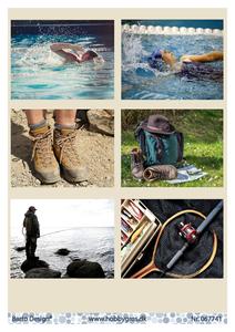 Bilde av Barto Design - Klippeark A4 - 067741 - Activities