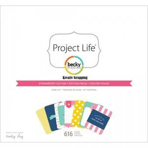 Bilde av Project Life - Core Kit 380295 - BECKY HIGGENS - STRAWBERRY