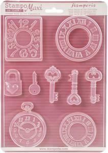Bilde av Stamperia - Soft Maxi Mould - A4 - 409 - Watches
